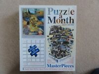 Puzzle A Month - 6 x 200 piece, double-sided jigsaw puzzles of Old Master Paintings