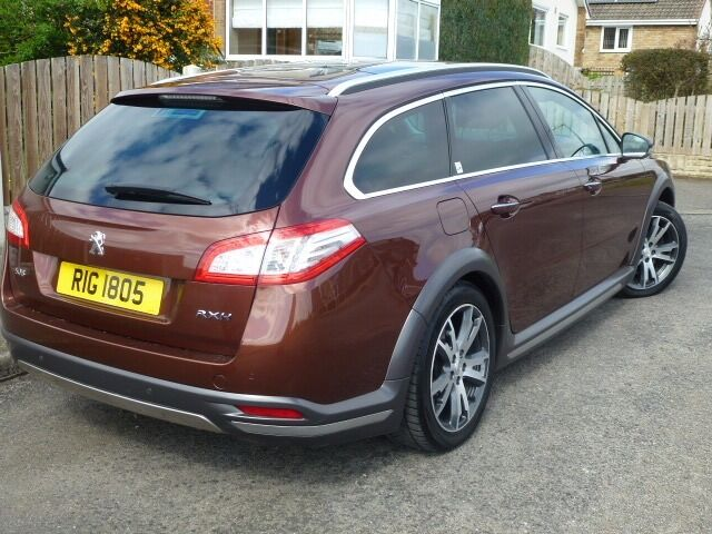 peugeot 508 rxh diesel / electric hybrid4 limited edition | in