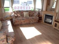 CHEAP STATIC CARAVAN FOR SALE ON NORTHUMBERLAND COASTLINE – NO SITE FEES TO PAY TILL 2018
