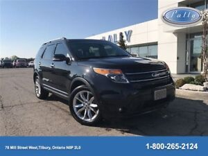 2015 Ford Explorer Limited. , Moonroof, Navigation, Bucket rear