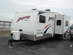 2008 Raptor Toy Hauler 3110TT