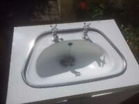 VANITY SINKS AND UNITS AND CLOAKROOM SINK & CISTERN FREE TO COLLECT
