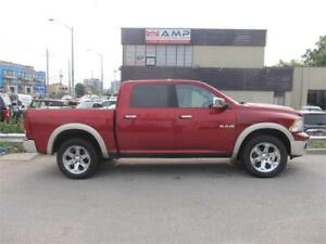 "2009 Dodge Ram 1500 Laramie, 4X4 chrome navigation, 20"" wheels!"