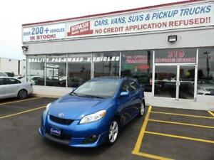 2010 Toyota Matrix XR SUNROOF,NO ACCIDENTS ONTARIO CAR CERTIFIED