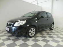 2008 Holden Barina  Black 4 Speed Automatic Hatchback Burleigh Heads Gold Coast South Preview