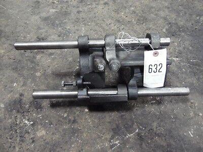 John Deere 4520 Shifter Forks X2 And Rails X2 R43137r43138 Tag 632 Dk