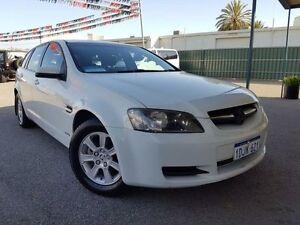 2010 Holden Commodore VE MY10 Omega White 6 Speed Automatic Sportswagon Maddington Gosnells Area Preview