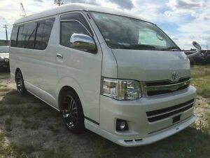 2013 Toyota Hiace 2wd GL White Automatic Concord Canada Bay Area Preview