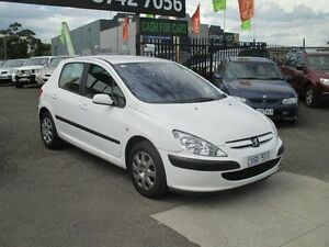 2004 Peugeot 307 1.6 White 4 Speed Automatic Hatchback Hoppers Crossing Wyndham Area Preview