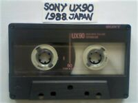 JL SONY TYPE 1 NORMAL TYPE 2 CHROME CASSETTE TAPES UX90 HF90 CHF60 CHF90 EF-X90 JOB LOTS/SOLO SALES