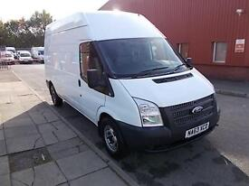 Ford Transit T350 LWB HIGH ROOF VAN TDCI 100PS DIESEL MANUAL WHITE (2013)