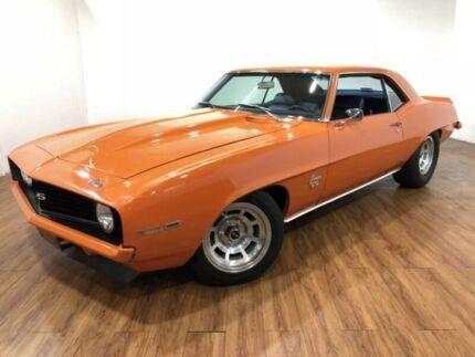 1969 Chevrolet Camaro SS Orange 4 Speed Manual Coupe Kingsgrove Canterbury Area Preview