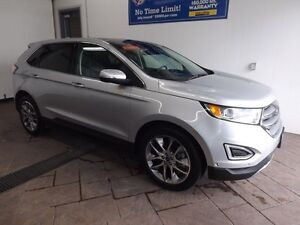 2016 Ford Edge Titanium AWD LEATHER NAVI SUNROOF
