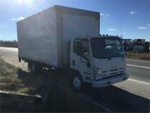 2015 Isuzu NRR 20ft Dryfreight Box w/ Liftgate