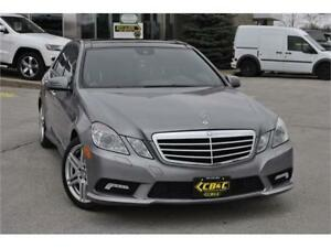 2010 Mercedes-Benz E-Class AWD / PANORAMIC ROOF / NAVI / NO ACCI