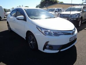 2017 Toyota Corolla ZRE172R SX S-CVT White 7 Speed Constant Variable Sedan West Ballina Ballina Area Preview