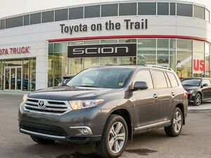 2013 Toyota Highlander Limited, Remote Starter, Navigation, Leat