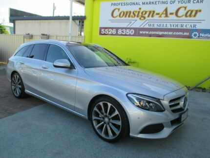 2015 Mercedes-Benz C250 S205 Estate 7G-Tronic + Silver 7 Speed Sports Automatic Wagon