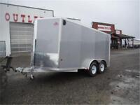 7 x 14 Enclosed Stealth Lite by Cargo Pro *TAX IN* ALL-ALUMINUM