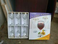 18.wine glasses