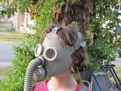 russian soviet military army kids child gas mask unissued survivalist prepper