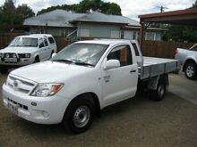 2006 Toyota Hilux  5 Speed Manual Cab Chassis Woodend Ipswich City Preview