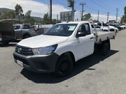 2016 Toyota Hilux TGN121R Workmate White Auto Sports Mode 2D CAB CHASSIS Greystanes Parramatta Area Preview