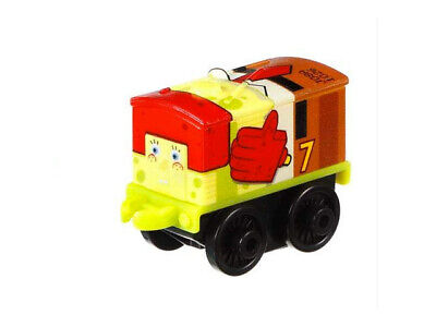 Thomas & Friends Minis - spongebob - TOBY as SPONGEBOB - new