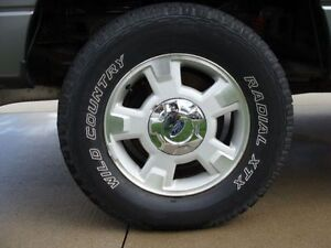 Ford F150 Rims and Tires for sale