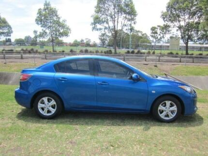 2011 Mazda 3 BL 11 Upgrade Neo Blue 5 Speed Automatic Sedan Mayfield East Newcastle Area Preview