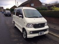 Daihatsu Atrai 7 seater, automatic, very versatile possible micro camper like hijet, 2,5 or 7 seats
