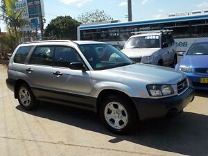 2003 Subaru Forester MY03 X Silver 4 Speed Automatic Wagon North St Marys Penrith Area Preview