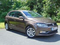 VOLKSWAGEN POLO 1.4 SE TDI BLUEMOTION 5d (brown) 2015