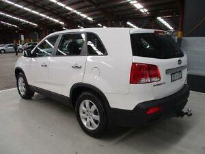 2010 Kia Sorento XM MY11 SI White 6 Speed Sports Automatic Wagon Maryville Newcastle Area Preview