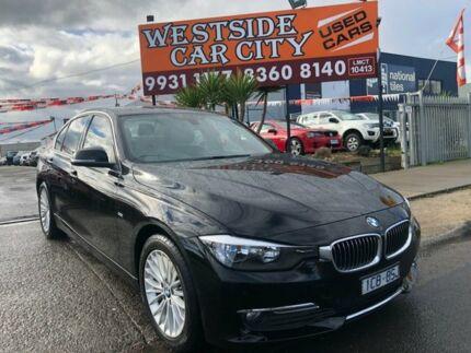 2014 BMW 316i F30 MY14 Luxury Line Black 8 Speed Automatic Sedan Hoppers Crossing Wyndham Area Preview