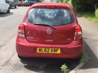 Lovely little Nissan Micra 1.2 Acenta Automatic, only 9000 miles, MOT May 2018, very clean.