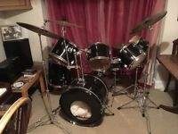 Drum Kit - Stagg Drum Kit with add ons