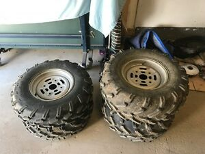 can am rims & tires