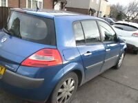 2007 megane 1.5 dci dynamique only 49,000 miles pan roof etc cheap too run tax