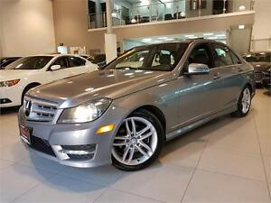 2012 Mercedes-Benz C250 4MATIC **ONLY 75KM**