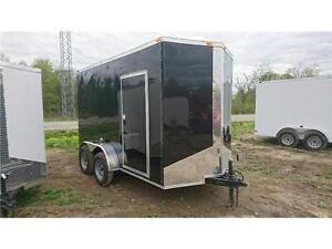 NEW 2017 6X12 ENCLOSED CARGO TRAILER ** 7ft high