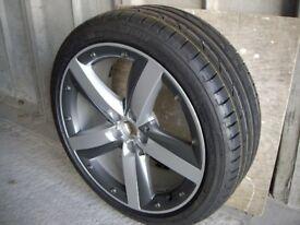 Bridgestone tyre and alloy for sale