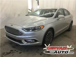 Ford Fusion Titanium AWD Navigation Cuir Toit Ouvrant MAGS 2017