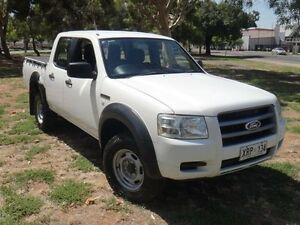 2007 Ford Ranger PJ 07 Upgrade XL (4x2) White 5 Speed Automatic Dual Cab Pick-up Albert Park Charles Sturt Area Preview