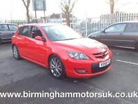 2008 (58 Reg) Mazda 3 2.3 T MPS 5DR Hatchback RED + MEGA LOW MILES ONLY 40000 ML