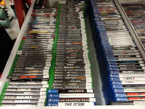 Large Selection of Current and Past-Gen Video Games