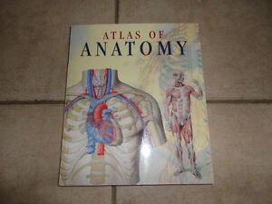 Atlas of Anatomy illustrated book Brand new