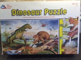 Early Learming Centre Dinosaur 100 pc Jigsaw Puzzle