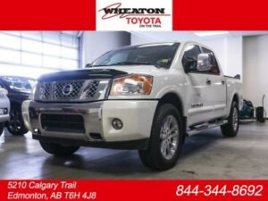 2013 Nissan Titan SL Crew Cab 4x4, Leather, Nav, DVD, Loaded!!