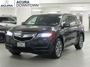 2016 Acura MDX Navi SUV Grey Lease Takeover $775 Per Month Mint